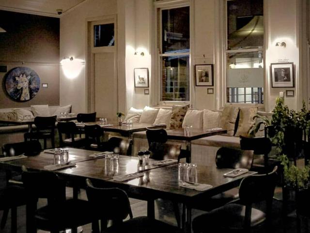 Restaurant set up for a la carte